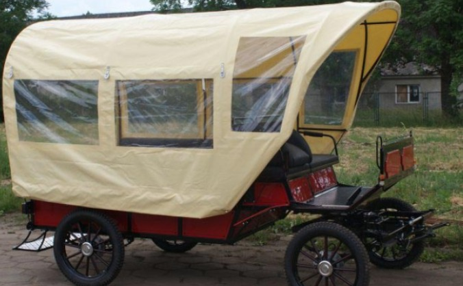 Buy a horse carriage suitable for wheelchair users