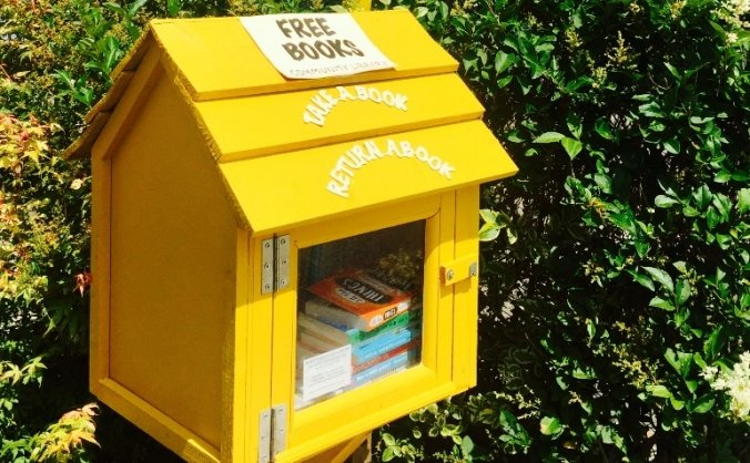 Peacehaven Little Library security project