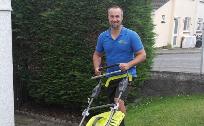 D.T Services gardening start up in St Austell