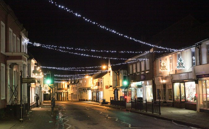 Great Dunmow Christmas Lights 2015