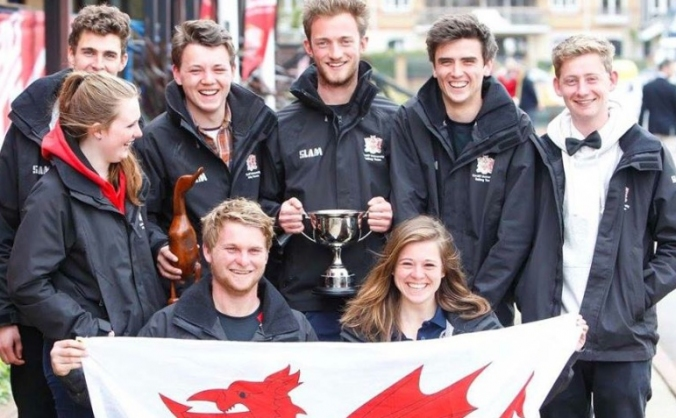 Cardiff University team Student Yachting World Cup