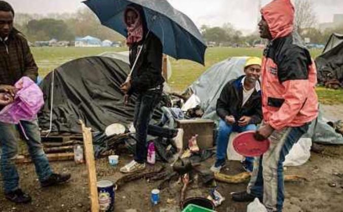 Calais visits