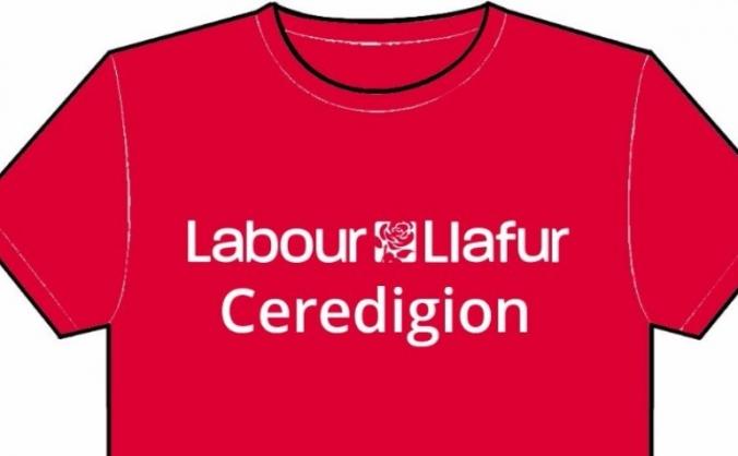 Ceredigion CLP Labour Campaign TShirt