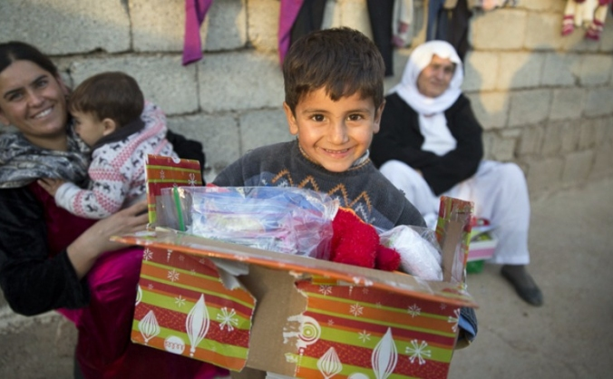 Shoeboxes for Syria