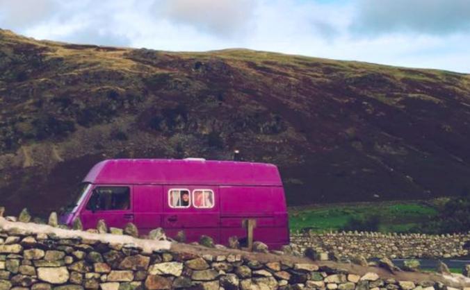 Viva La Violet Vixen VW ~ Help Ruth & Viv Get Home