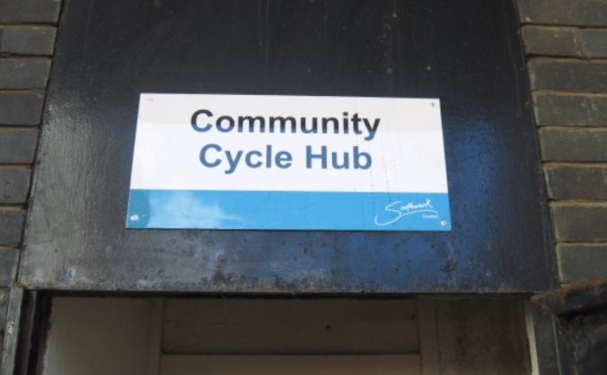 Help save Sceaux Gardens Community Cycle Hub