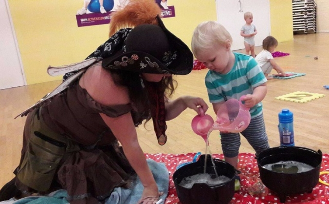 Bringing magic and sparkle to children everywhere