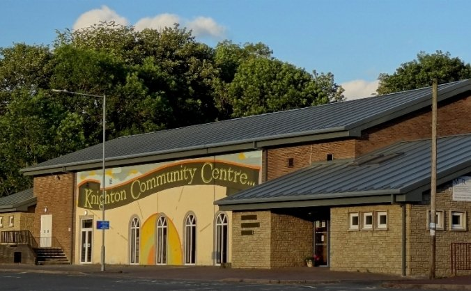 KEEPING THE LIGHTS ON - PV Panels for Knighton and District Community Centre
