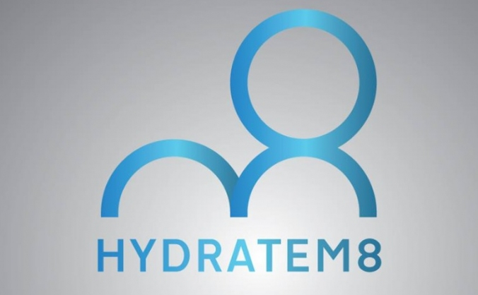 Hydratem8  water bottle