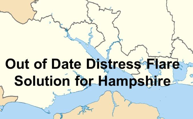 Distress Flare Disposal Service - HAMPSHIRE