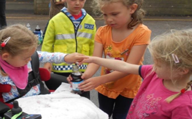 Witheridge Pre School 'spend a penny'