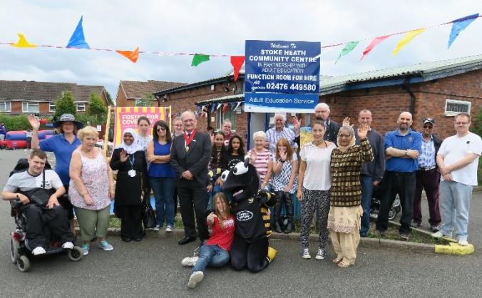 Stoke Heath Community Centre Solar Panels Project