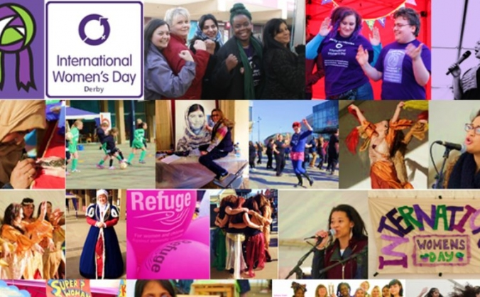 International Women's Day Festival Derby