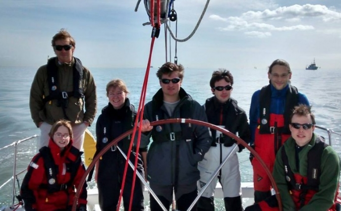 Cambridge racing in the Student Yachting World Cup