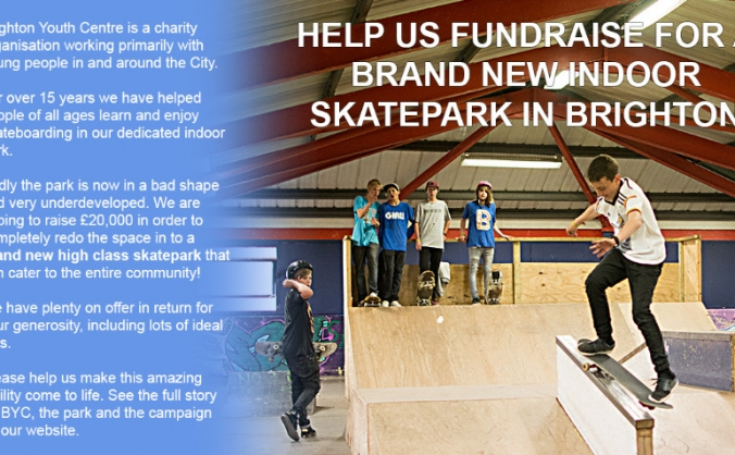 A Brand New Skatepark at Brighton Youth Centre