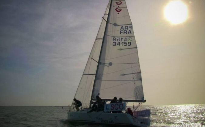 Team Scotland at Student Yachting World Cup