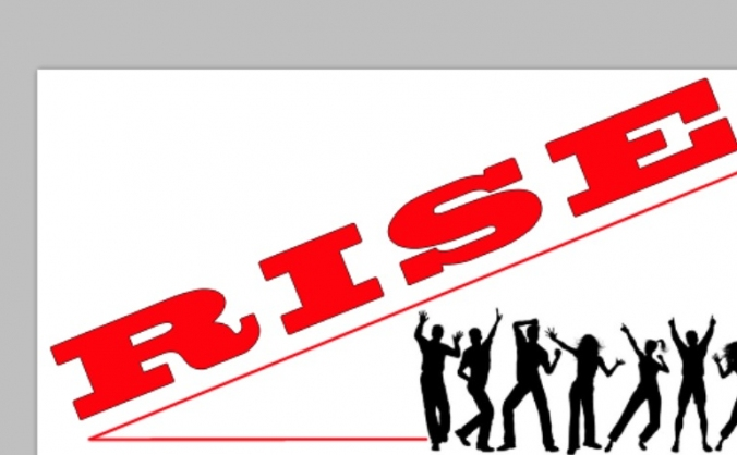 RISE - A NEW UPBEAT AND POSITIVE NEWSPAPER.