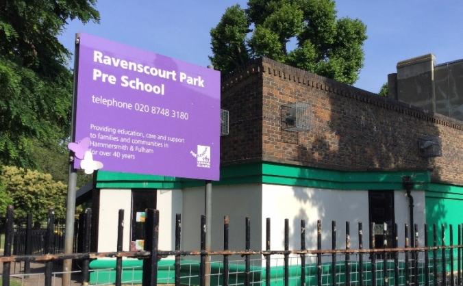 Support Ravenscourt Park Pre School