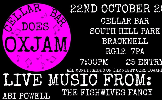 Cellar Bar Does Oxjam 2017