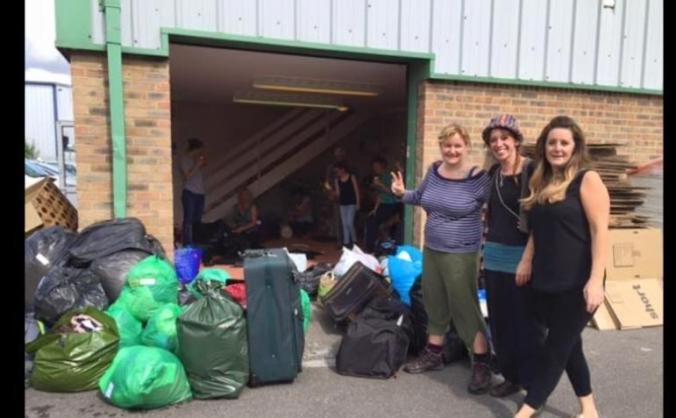 Salisbury Solidarity tent