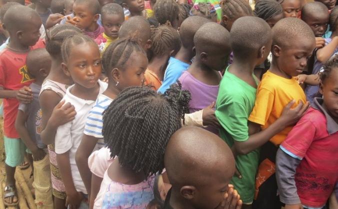 Sierra Leone flood effort