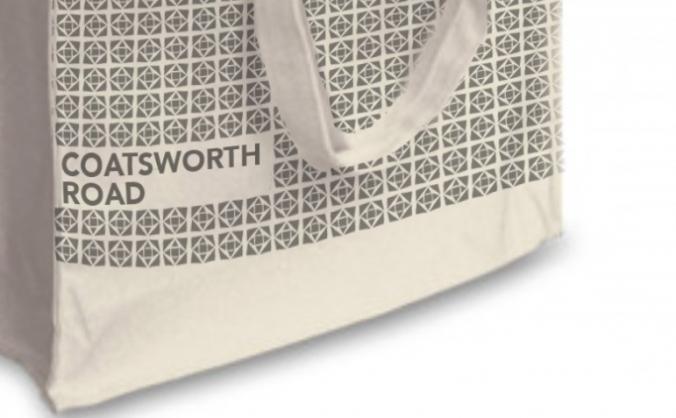 Coatsworth Road Shopping bag