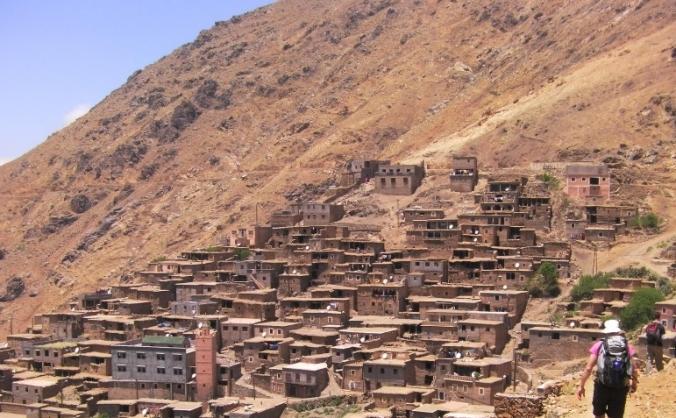 Mia Edson Morocco  Expedition fundraising