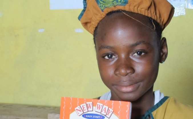 Send books to children like Memunatu