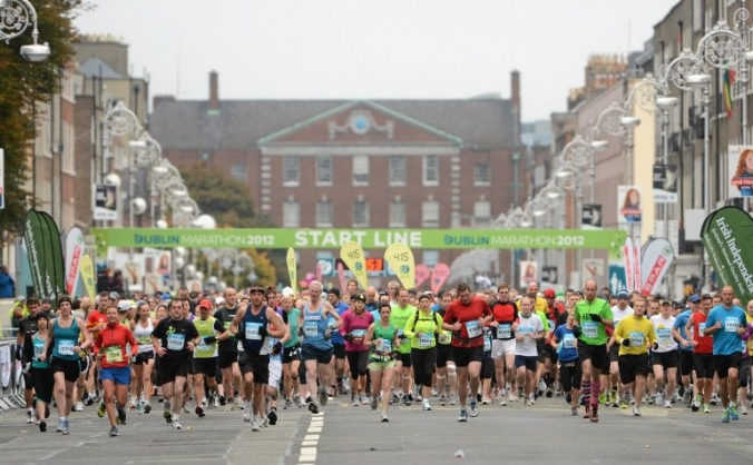 Sponsored Dublin Marathon Run