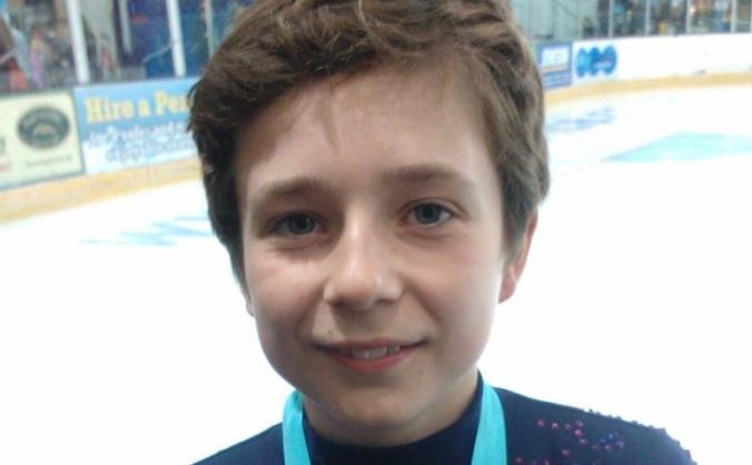 Help Brandon represent GB in Ice Skating!