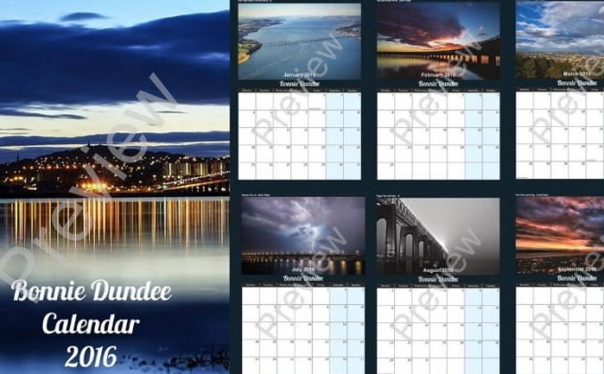 Bonnie Dundee 2016 Calendar