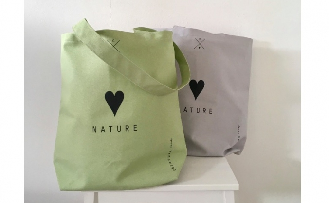 Love Nature Tote Bags To Help Greenfingers Charity