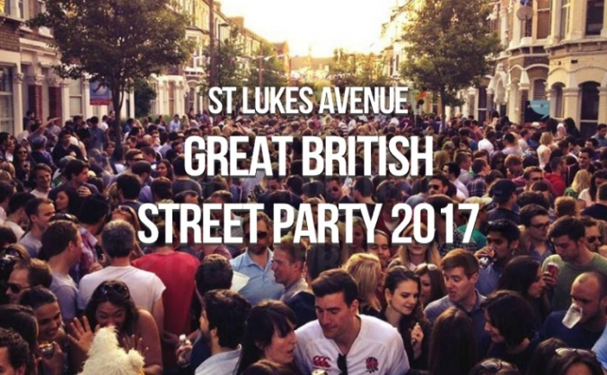 St Luke's Avenue Great British Street Party