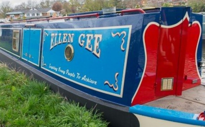 All Aboard The Ellen Gee