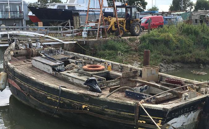 Thistle RR2 - 1887 built boat, two left, rebuild