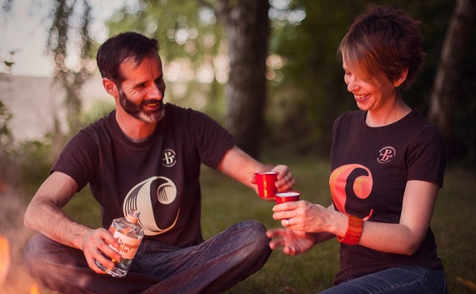 Puddingstone Distillery — Campfire Gin