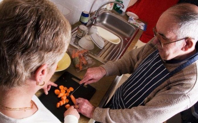 Accessible kitchen for people with sight loss!