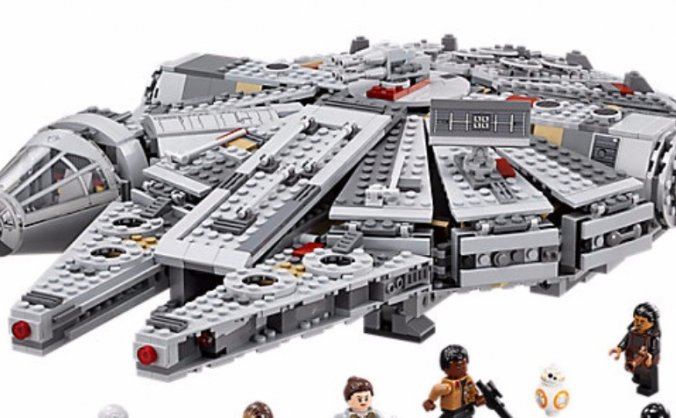 Buy a Man-Child a Millennium Falcon Lego Kit