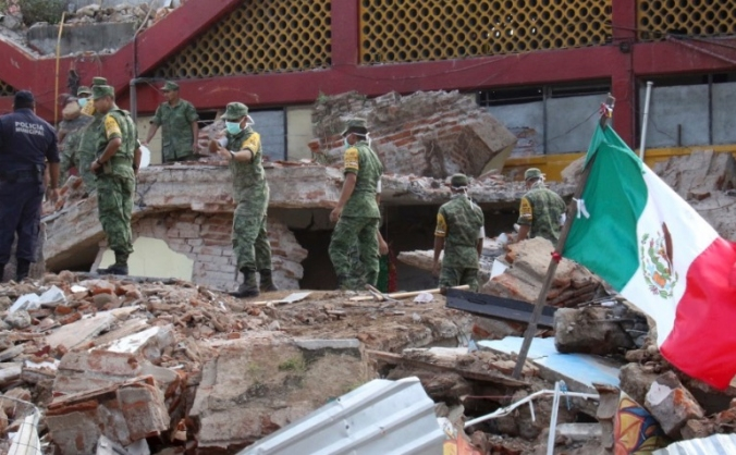 Help for Mexican earthquake victims