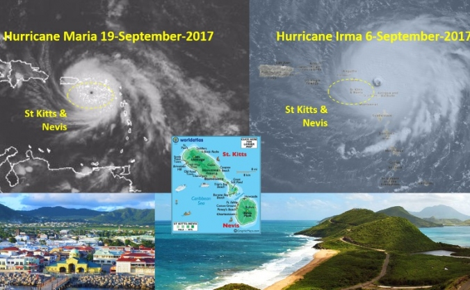 Hurricane Irma & Maria relief for St Kitts & Nevis