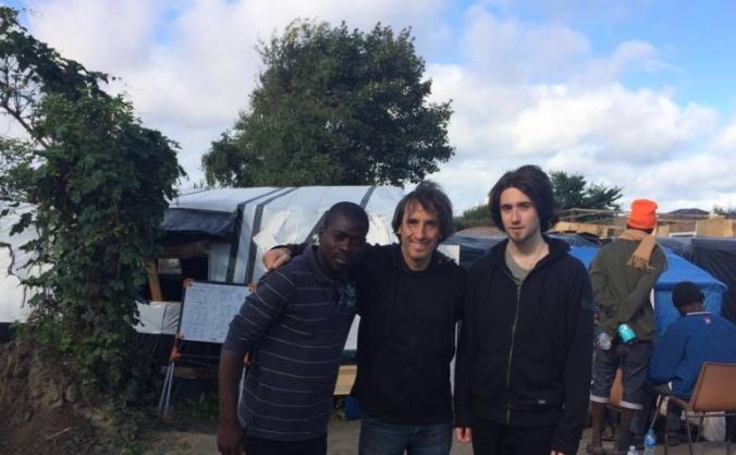 Calais Refugee Camp Clinic Build