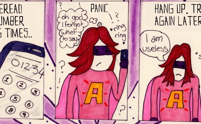 The Misadventures of Anxiety Girl