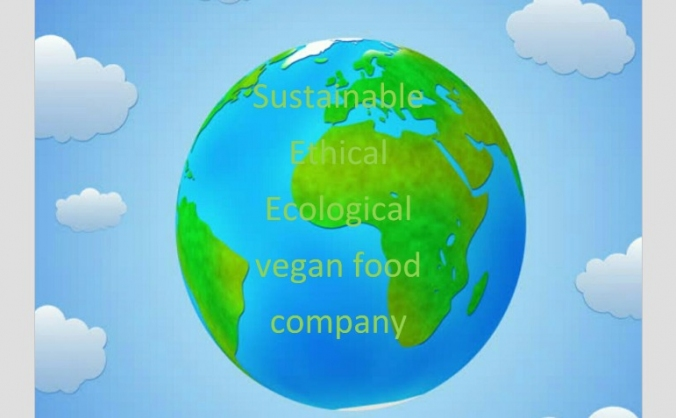 Sustainable ethical ecological vegan food company