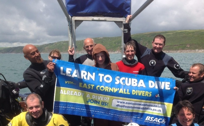 Cornwall Community Scuba Club High & Dry!