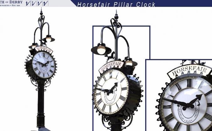 Iconic Horsefair Clock Project 2017