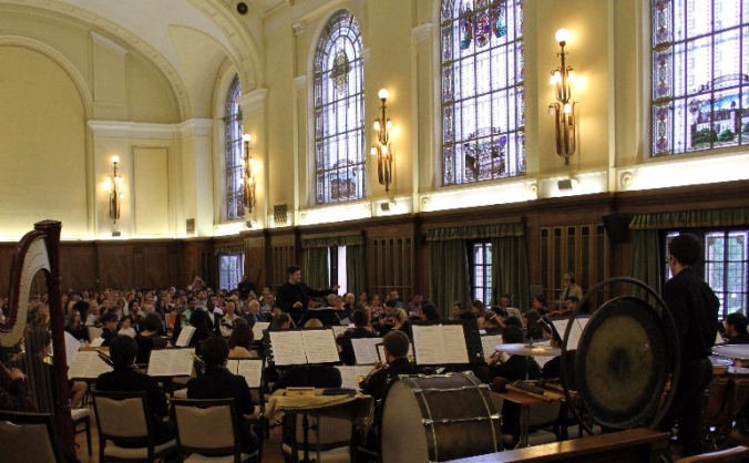 Charity and educational symphonic concert