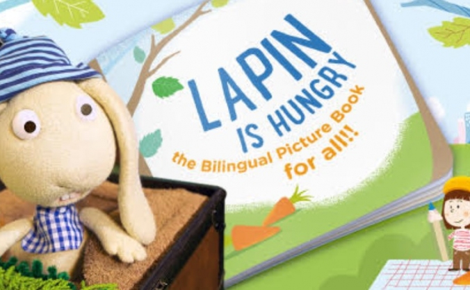 Lapin Is Hungry - Bilingual picture book for ALL