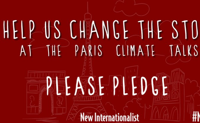 Help us change the story at Paris climate talks