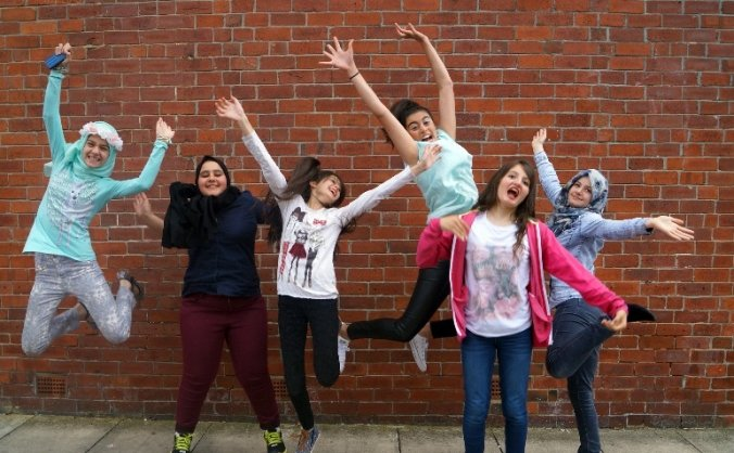 Syrian Girls Friendship Project