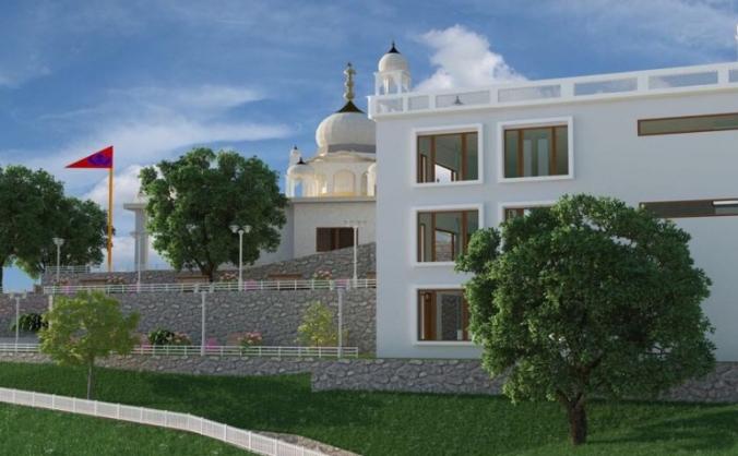 Gurdwara Sahib Tapoban Bhai Randhir Singh Ji
